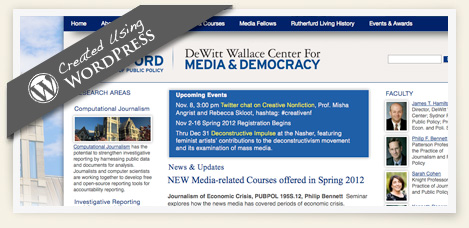 DeWitt Wallace Center For Media and Democracy, Duke Sanford School of Public Policy