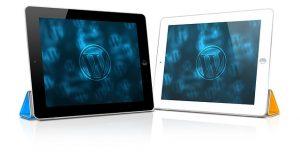WordPress on tablets