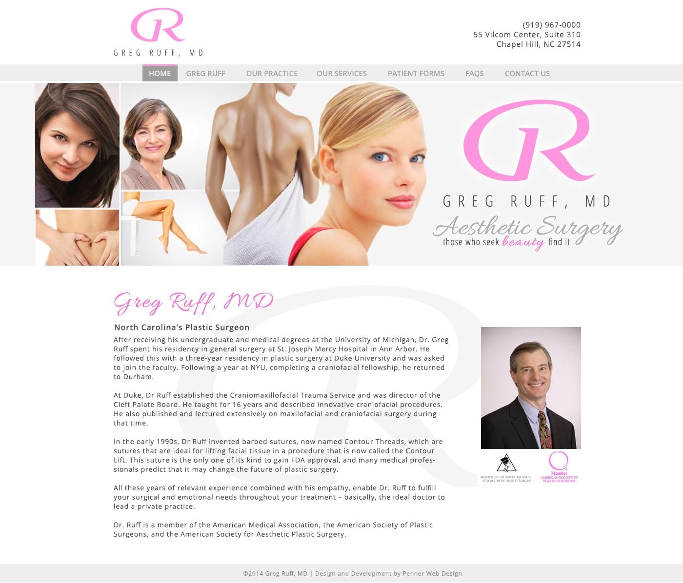 gregruffmd-website-design
