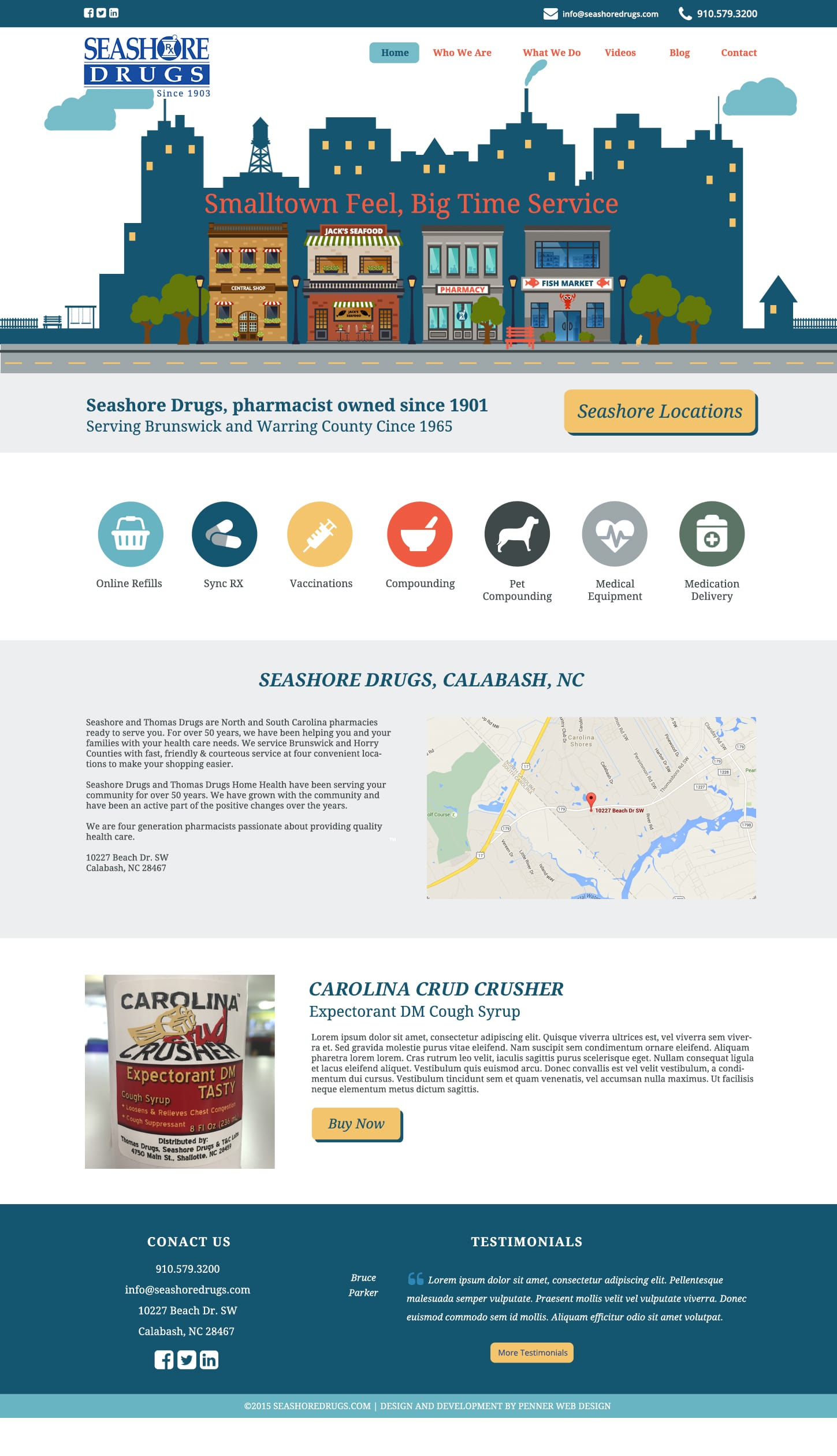 seashore-pharmacy-website-design