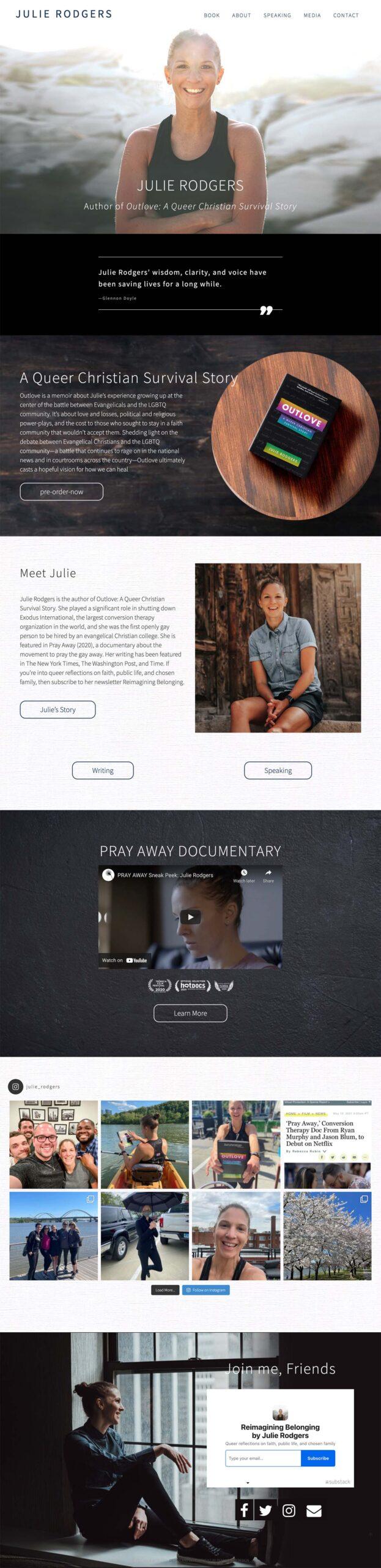 Julie Rodgers Screenshot